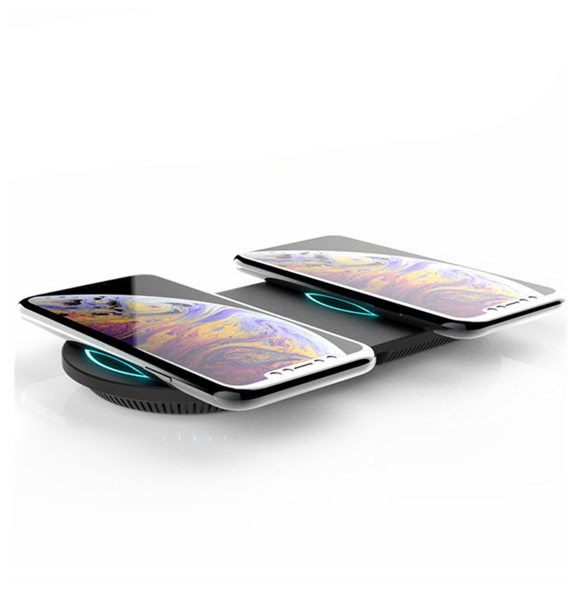 WiV5 Dual 10W Wireless Charger